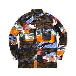CLOT | x Ian Connor Brick Shirt Camo - Concrete