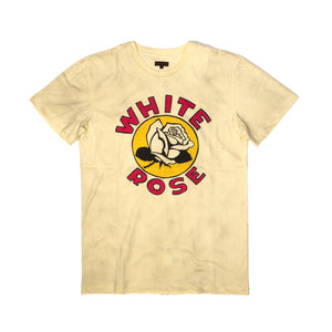 CLOT | x Zoe Vance White Rose T-Shirt Cream - Concrete