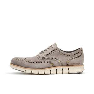 Cole Haan ZerøGrand Wing Oxford Iron Stone - Concrete