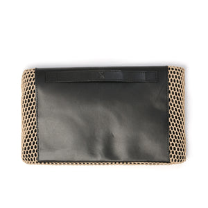 Christopher Raeburn Women's Clutch Bag Mesh Sand - Concrete