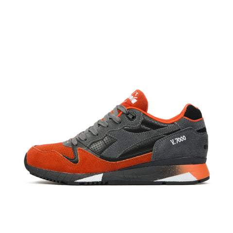 Diadora V7000 Premium Castle Rock/Dark Orange - Concrete