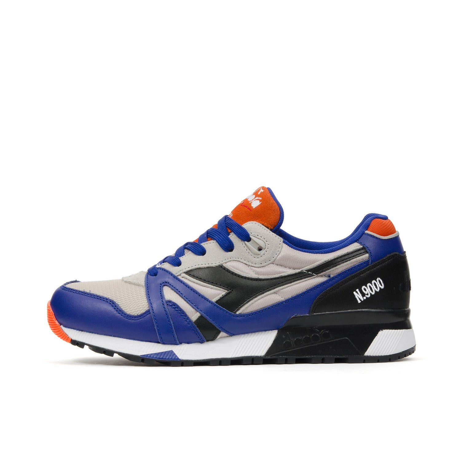 Diadora N9000 L-S Wind Grey/Imperial Blue - Concrete