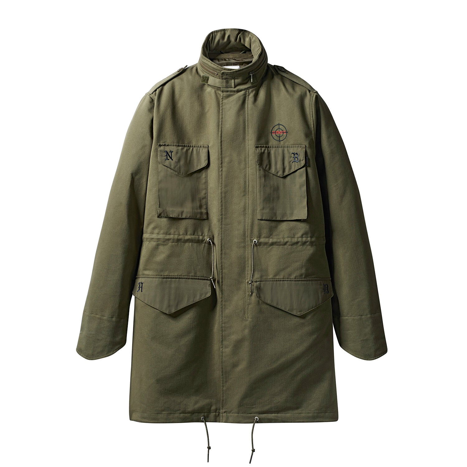 a8a174a4 adidas Originals x NEIGHBORHOOD M-65 Jacket Trace Olive. Touch to zoom