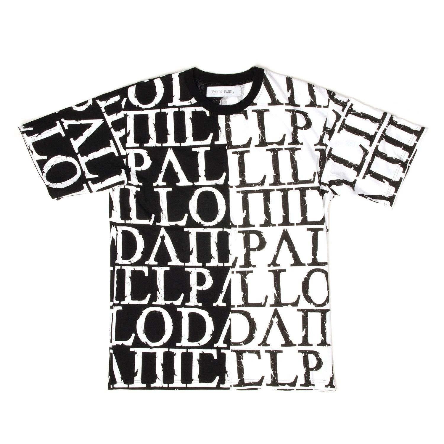 Daniel Palillo DP Print T-Shirt Black/White - Concrete