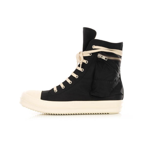 DRKSHDW by Rick Owens | Cargo Sneaks Black / Milk - Concrete