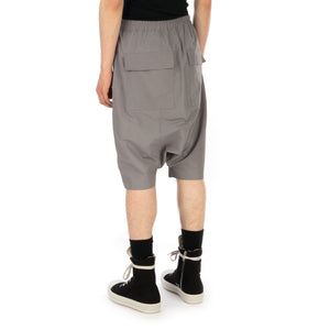 DRKSHDW by Rick Owens Pods Shorts Stone - Concrete