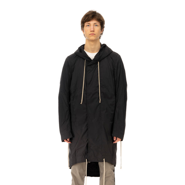 DRKSHDW by Rick Owens | Jumbo Fishtail Parka in Black