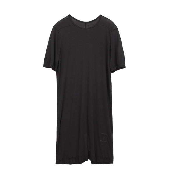 DRKSHDW by Rick Owens Woven Level Tee Dark Dust - Concrete