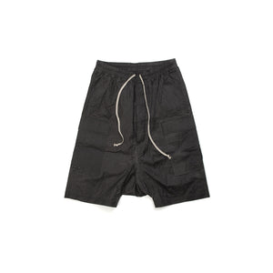 DRKSHDW by Rick Owens Woven Pant Cargo Pods Black