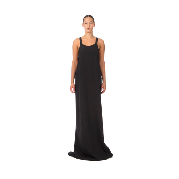 DRKSHDW by Rick Owens Open Tank Gown Black