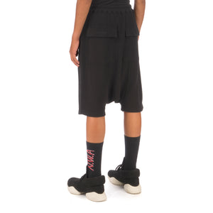 DRKSHDW by Rick Owens | Drawstring Pods Shorts Black