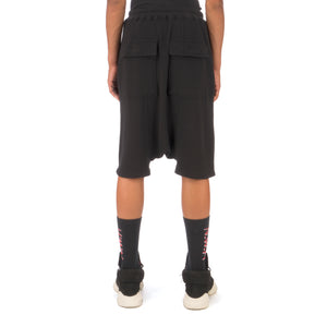 DRKSHDW by Rick Owens | Drawstring Pods Shorts Black - Concrete