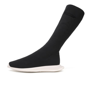 DRKSHDW by Rick Owens Sock Runner Black - Concrete