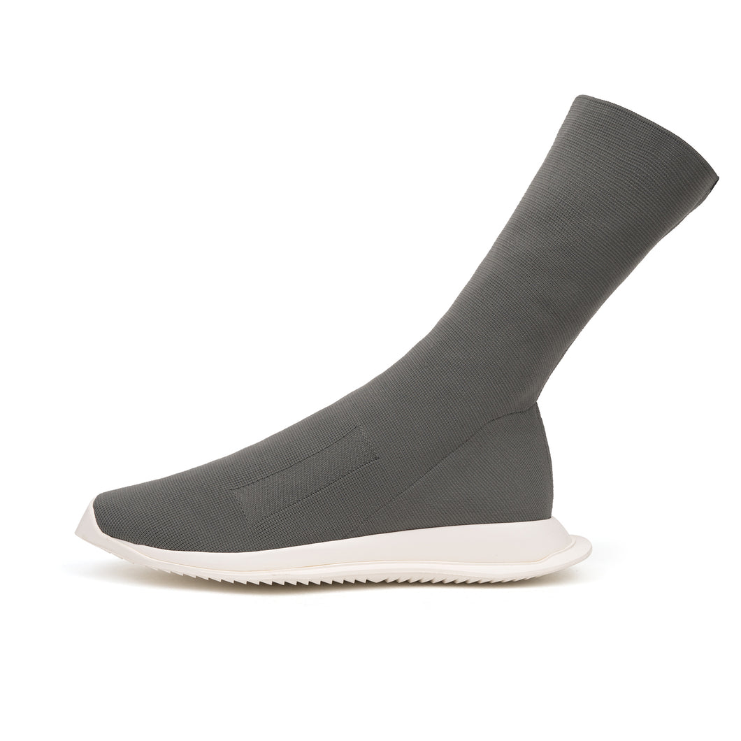 DRKSHDW by Rick Owens Sock Runner Low Dark Dust - Concrete