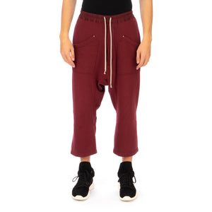 DRKSHDW by Rick Owens | Cargo Cropped Sweat Pants Bruise