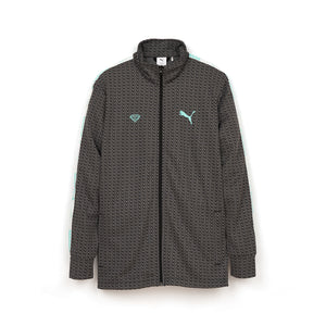 PUMA x DIAMOND Track Jacket Black - Concrete