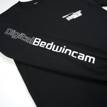 將圖像加載到畫廊查看器中Bedwin 'Keith' L/S Print T-Shirt Black
