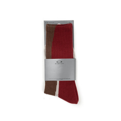 OAKLEY by Samuel Ross Wood Shapes's Socks Brown Mix