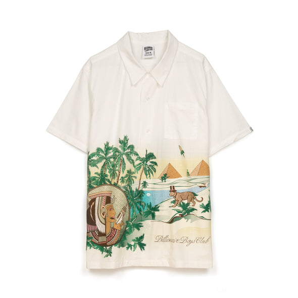 Billionaire Boys Club | Landscape Scenery S/S Shirt Bone - Concrete