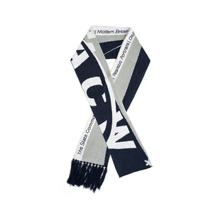 A-COLD-WALL* | Oversized Scarf Grey / Navy - Concrete