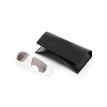 Load image into Gallery viewer, Rick Owens | Sunglasses Rick Cream Temple / Silver Lens - Concrete
