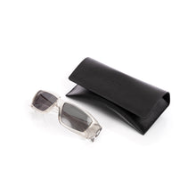 Load image into Gallery viewer, Rick Owens | Sunglasses Rick Transparent Temple / Black Lens - Concrete