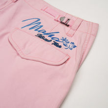 Load image into Gallery viewer, maharishi Miltype Cargo Snoshorts Islands Tour Embroidery Coral Pink