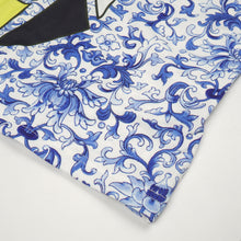 Load image into Gallery viewer, Ground Zero Chinese Floral Print Oversize T-Shirt