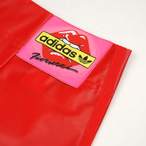 adidas Originals | x Fiorucci W Kiss Mini Skirt Red