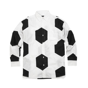 Daniel Palillo M Football Shirt Black/White - Concrete