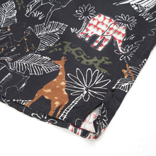 Load image into Gallery viewer, Danilo Paura 'Petra' S/S Safari Shirt Black