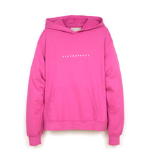Load image into Gallery viewer, Danilo Paura 'Hugo' Oversized Hoodie Essere Paura Fuxia - Concrete