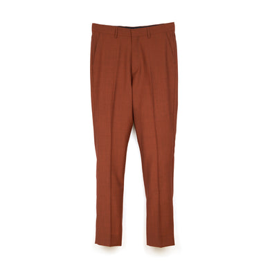 Danilo Paura 'Oler' Oversized Wool Pants Orange