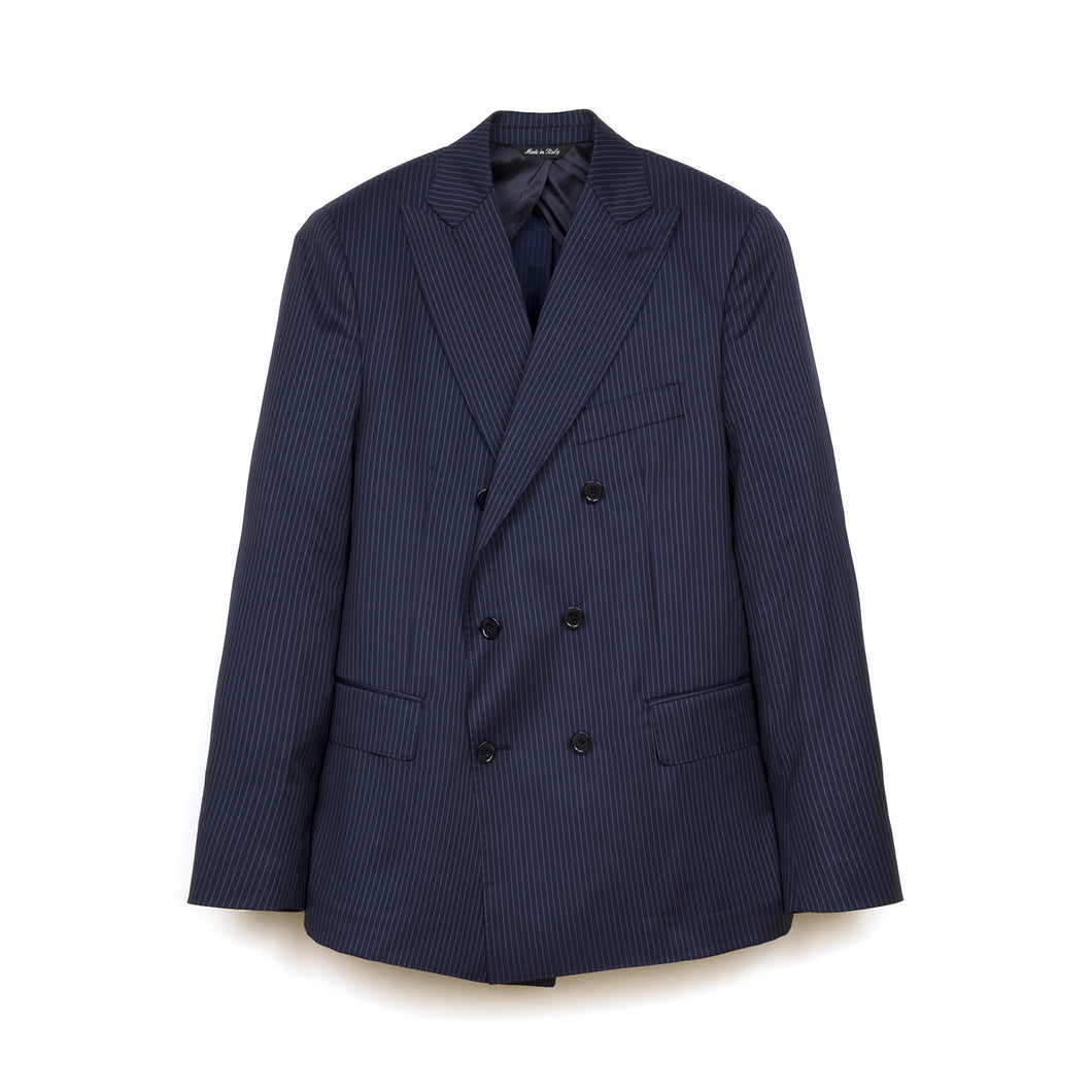 Kappa x Danilo Paura 'Usak' Double Breasted Jacket Navy - Concrete