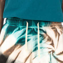 Load image into Gallery viewer, Danilo Paura | 'Donny' Embroidery Shorts Turquoise - Concrete