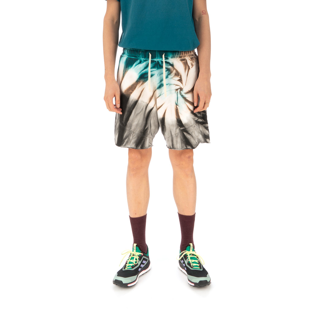 Danilo Paura | 'Donny' Embroidery Shorts Turquoise
