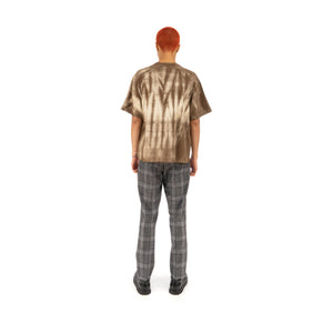 Danilo Paura 'Fabian' Oversized T-Shirt Brown / White
