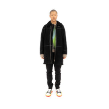 Afbeelding in Gallery-weergave laden, Danilo Paura 'Franky' Sheepskin Coat Black