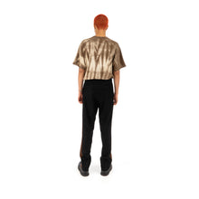 Load image into Gallery viewer, Danilo Paura 'Nelson' Band Pant Black / Brown - Concrete