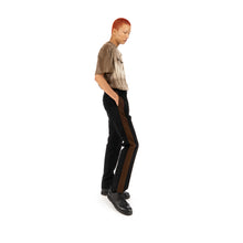 Load image into Gallery viewer, Danilo Paura 'Nelson' Band Pant Black / Brown