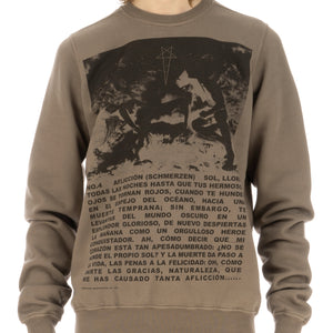 DRKSHDW by Rick Owens | Crewneck Sweat Dust / Black