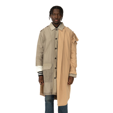 Duran Lantink for Concrete | Trench Coat Grey / Beige - Concrete