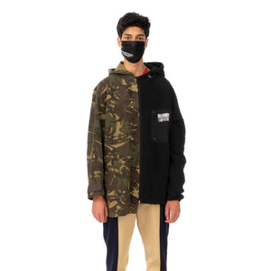 Duran Lantink for Concrete | Fluffy Camo Jacket-1 Camo / Black - Concrete