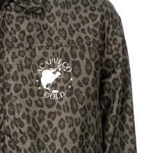 Afbeelding in Gallery-weergave laden, Duran Lantink for Concrete | Leopard Coach Jacket-1 Green / Black