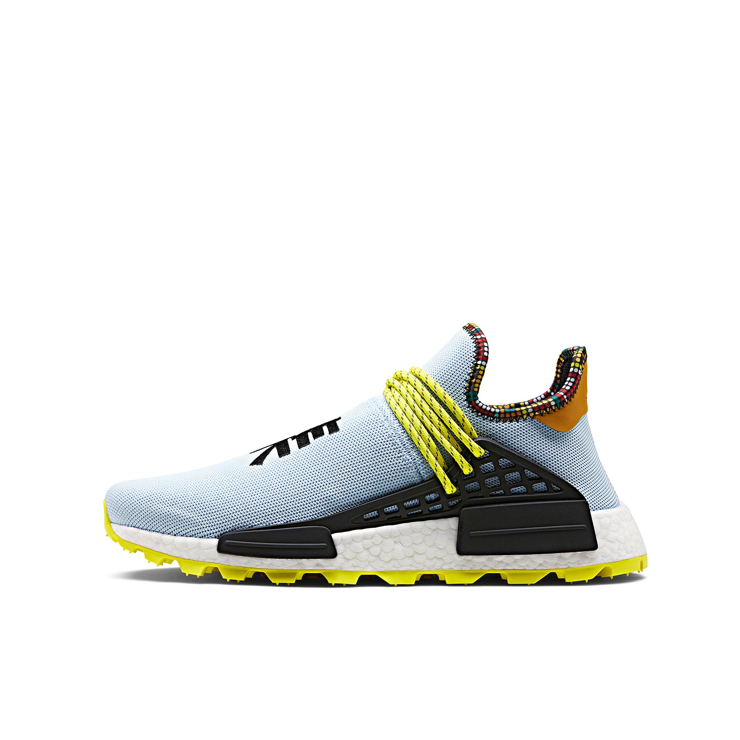 nouveau style da068 b367d adidas Originals x Pharrell Williams 'INSPIRATION' Solar HU NMD Aero Blue