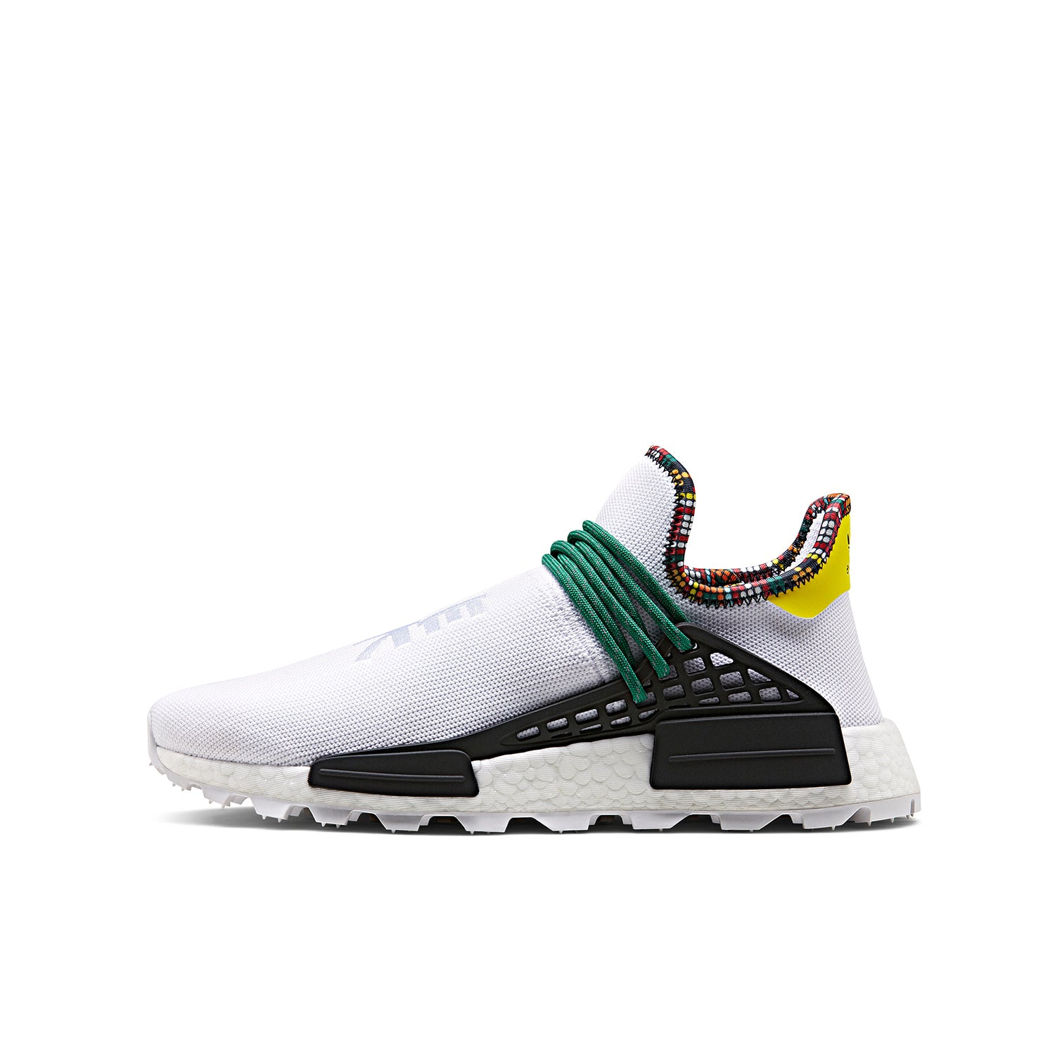 the latest d115b 5b1cc adidas Originals x Pharrell Williams 'INSPIRATION' Solar HU NMD White