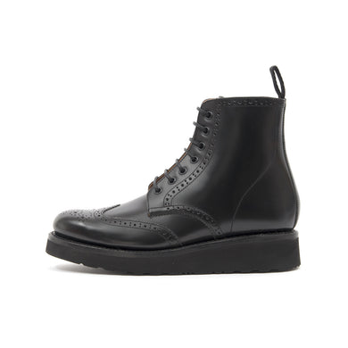 Grenson 'Emma' Brogue Boot Black
