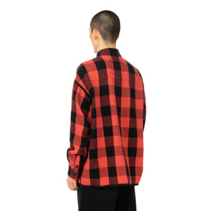 FACETASM | Check Shirt Red
