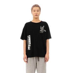 FACETASM | Eagle T-Shirt Black - Concrete