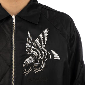 FACETASM | Embroidered Jacket Black